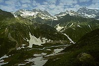 Sakeni valley, West Caucasus (1987)