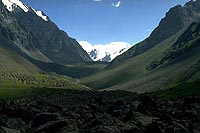 Bytyy valley, Kyrgyz Mt.Range (1988)