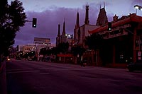 Dawn in Hollywood, Los Angeles (1998)
